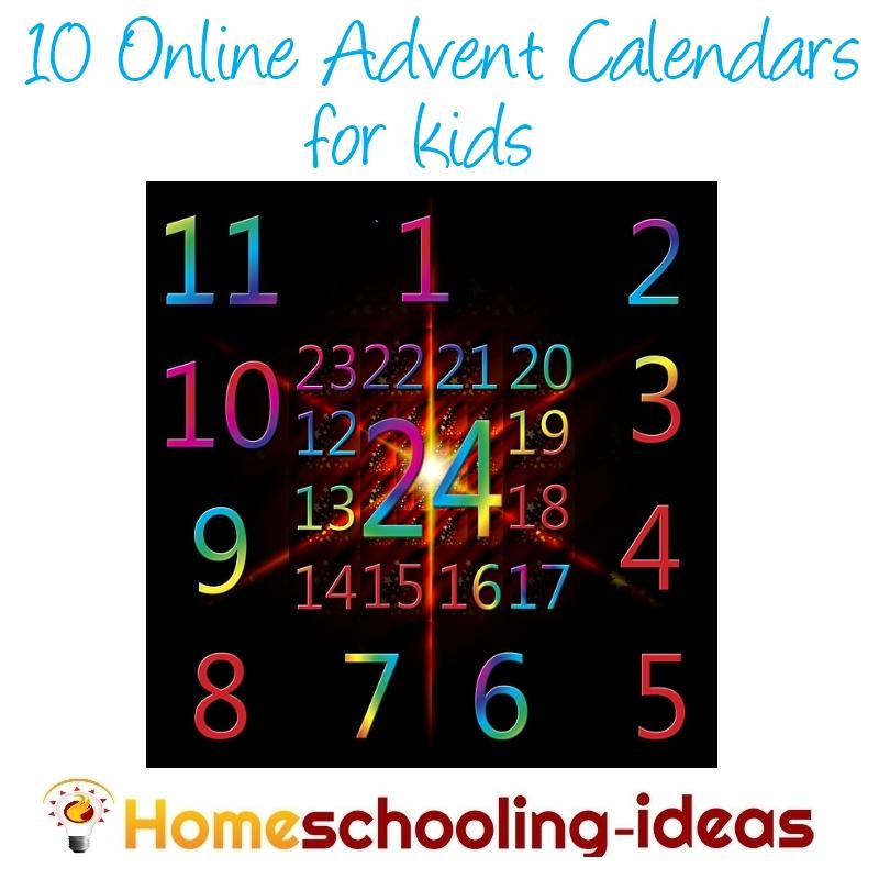 Teachingmom Advent Calendar | Calendar Template 2016
