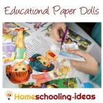 Educational Paper Dolls for Homeschool