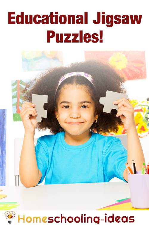 50+ Educational Jigsaw Puzzles For Kids - Homeschooling ...